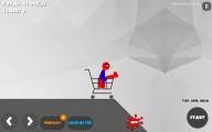 Stickman Destruction 3: Stickman Shopping Cart