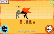 stickman fighter fighting