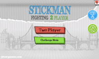Stickman Fighting 2 Player: Menu