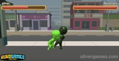 Stickman Fights: Gameplay Two Players