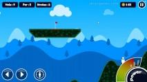 Stickman Golf: Power Golf Gameplay