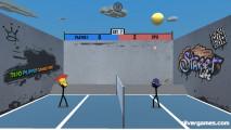 Stickman Sports Badminton: Gameplay Badminton