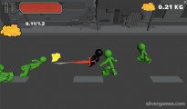 Stickman Sword Fighting 3D: Gameplay Knife Attack