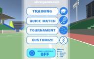 Stickman Tennis 3D: Menu
