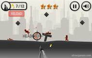 Stickman War: Headshot Gameplay