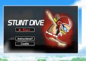 Stunt Dive: Menu