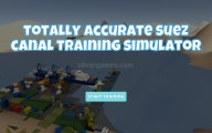 Suez Canal Training Simulator: Menu