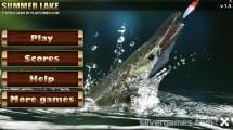 Summer Lake Fishing: Menu