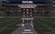 Super Bowl Tic Tac Toe: Game Instruction Throwing Ball