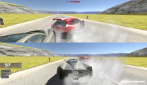 Super Cars: Two Player Gameplay Racing