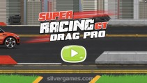 Super Drag Racing GT: Menu