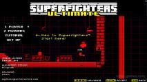 Superfighters 2 Ultimate: Menu