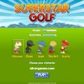 Superstar Golf: Menu