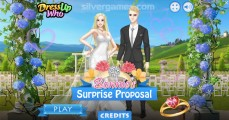 Surprise Proposal: Menu