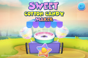 Sweet Cotton Candy Maker: Menu
