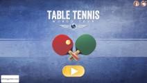Table Tennis World Tour: Menu