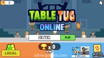 Table Tug Online: Menu