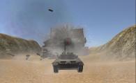Tank Simulator: Desert Destroying Wall