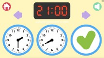 Telling The Time: Gameplay Telling Time Clock