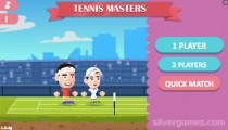 Tennis Masters: Menu