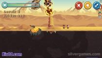 Terror Of Deep Sand: Gameplay Monster Destruction