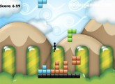 Tetris'D: Gameplay Jumping Blocks