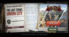The Last Stand: Union City: Menu Platform Game