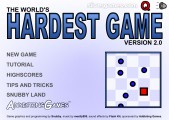 The World's Hardest Game 2: Menu
