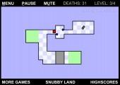 The World's Hardest Game 2: Gameplay Maze Frustrating