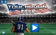 Touchdown Rush: Menu