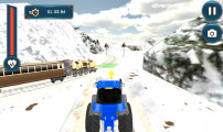 Towing Train: Gameplay Truck Snow