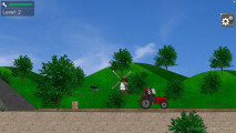 Tractor Trial: Gameplay Truck Hurdles