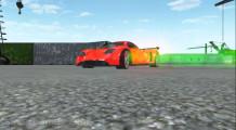 Traffic Car Racing 3D: Drifting Green Wheel Smoke