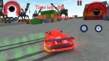 Traffic Car Racing 3D: Red Sports Car Drifting