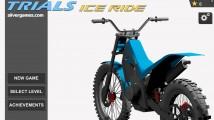 Trials Ice Ride: Menu