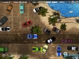 Tropical Police Parking: Beach Gameplay Parking Fun