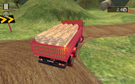 Truck Cargo Driver: Truck Transporting
