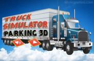 Truck Parking Simulator: A Menu