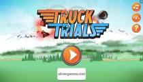 Truck Trials: Menu