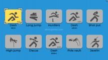 TRZ Athletic Games: Athletics Gameplay