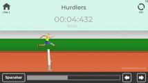 TRZ Athletic Games: Hurdles Gameplay Jumping Olympics