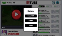 Tube Clicker: Options