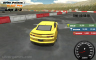 Turbo Drift: Yellow Car Racing