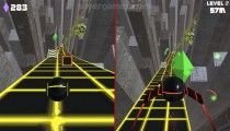 Two Ball 3D: Dark: Gameplay Two Player Distance