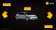 Uber Taxi Driver 3D: Selection Car