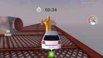 Unfair Stunt: Gameplay Car Racing