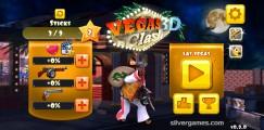 Vegas Clash 3D: Menu
