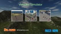 Vehicle Simulator: Menu