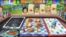 Virtual Families: Cook Off: Burger Milkshake Gameplay