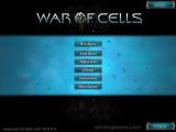 War of Cells: Menu